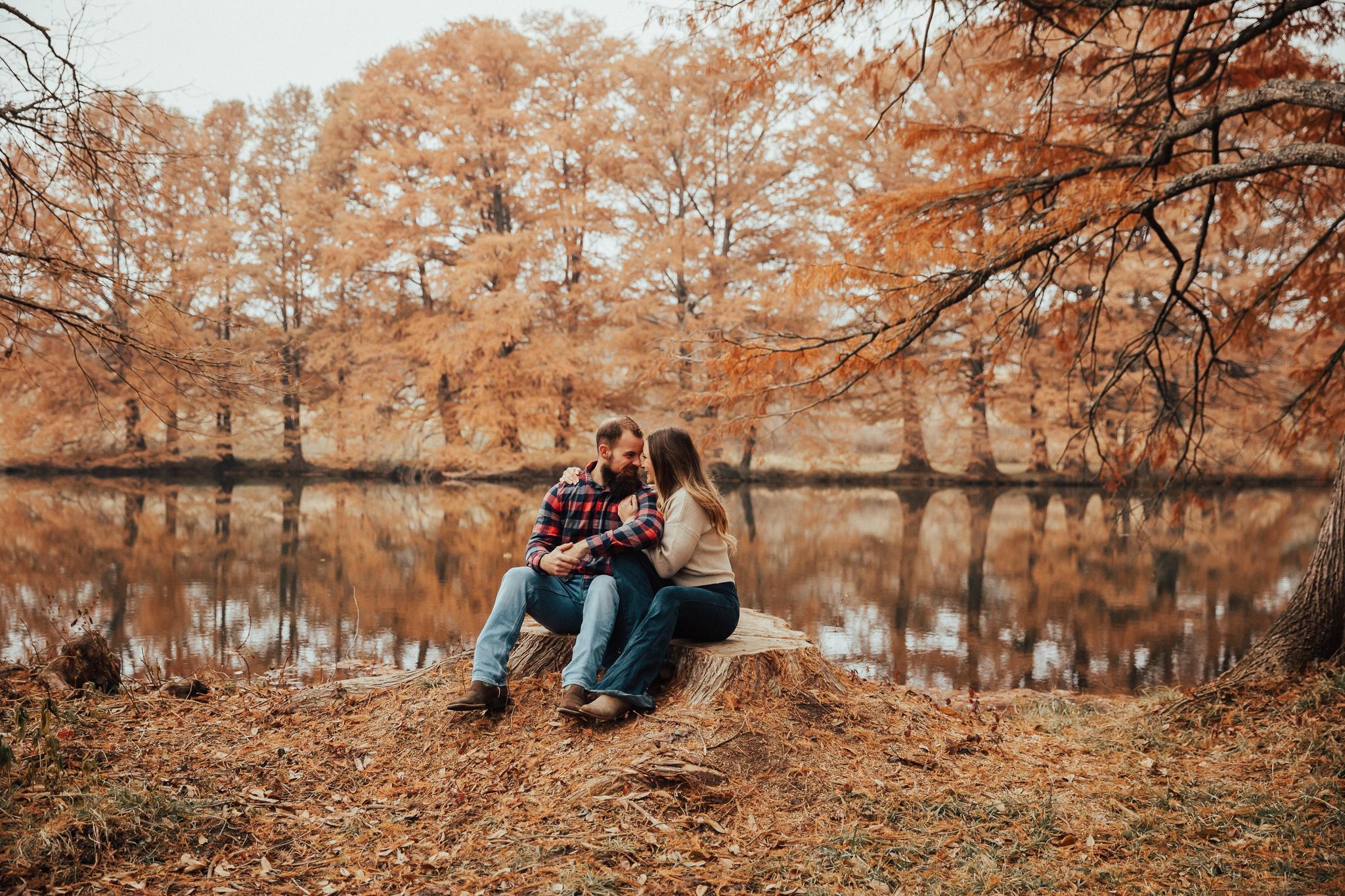 Fall Engagement Photoshoot Ideas