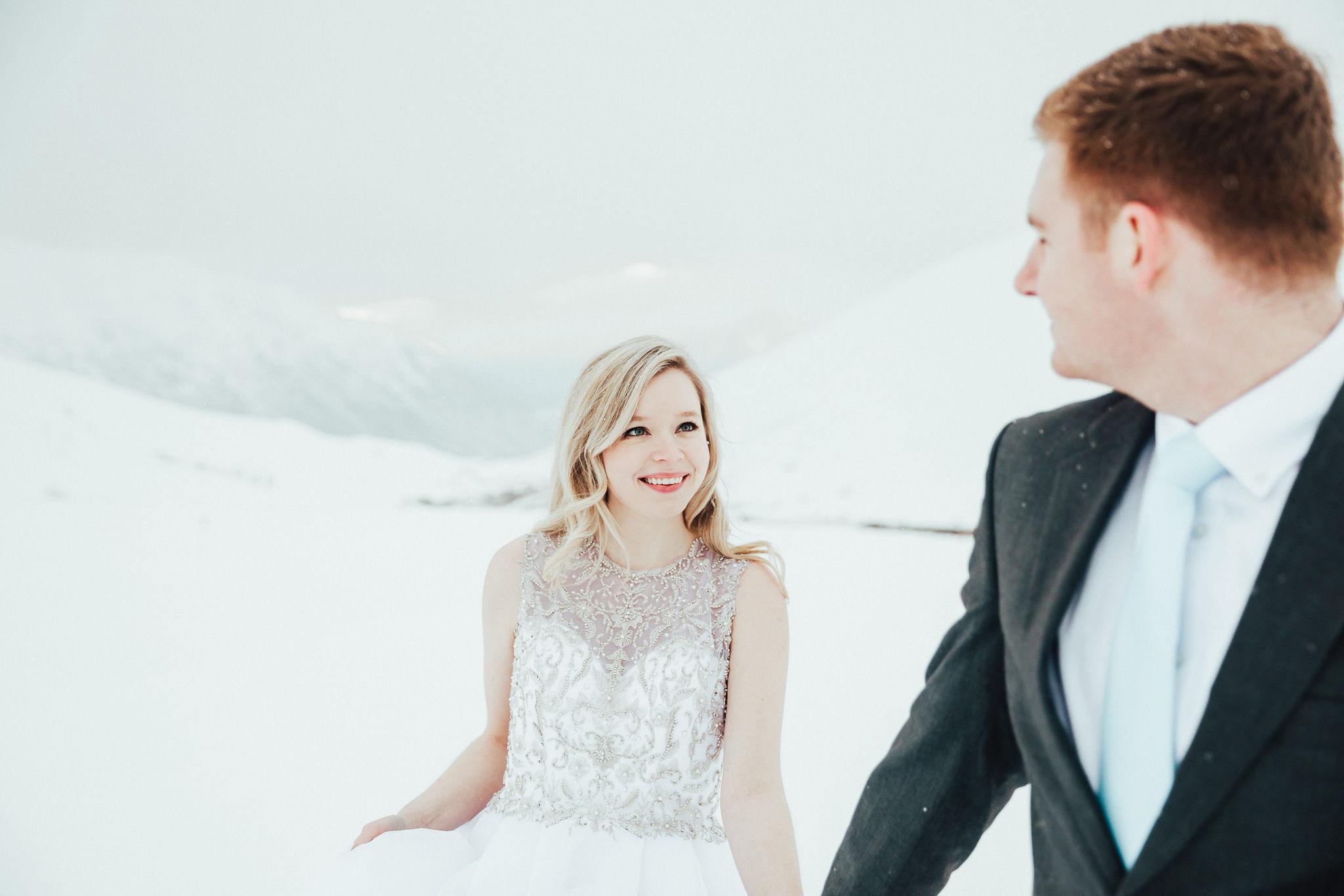 Hatcher Pass adventure elopement photos