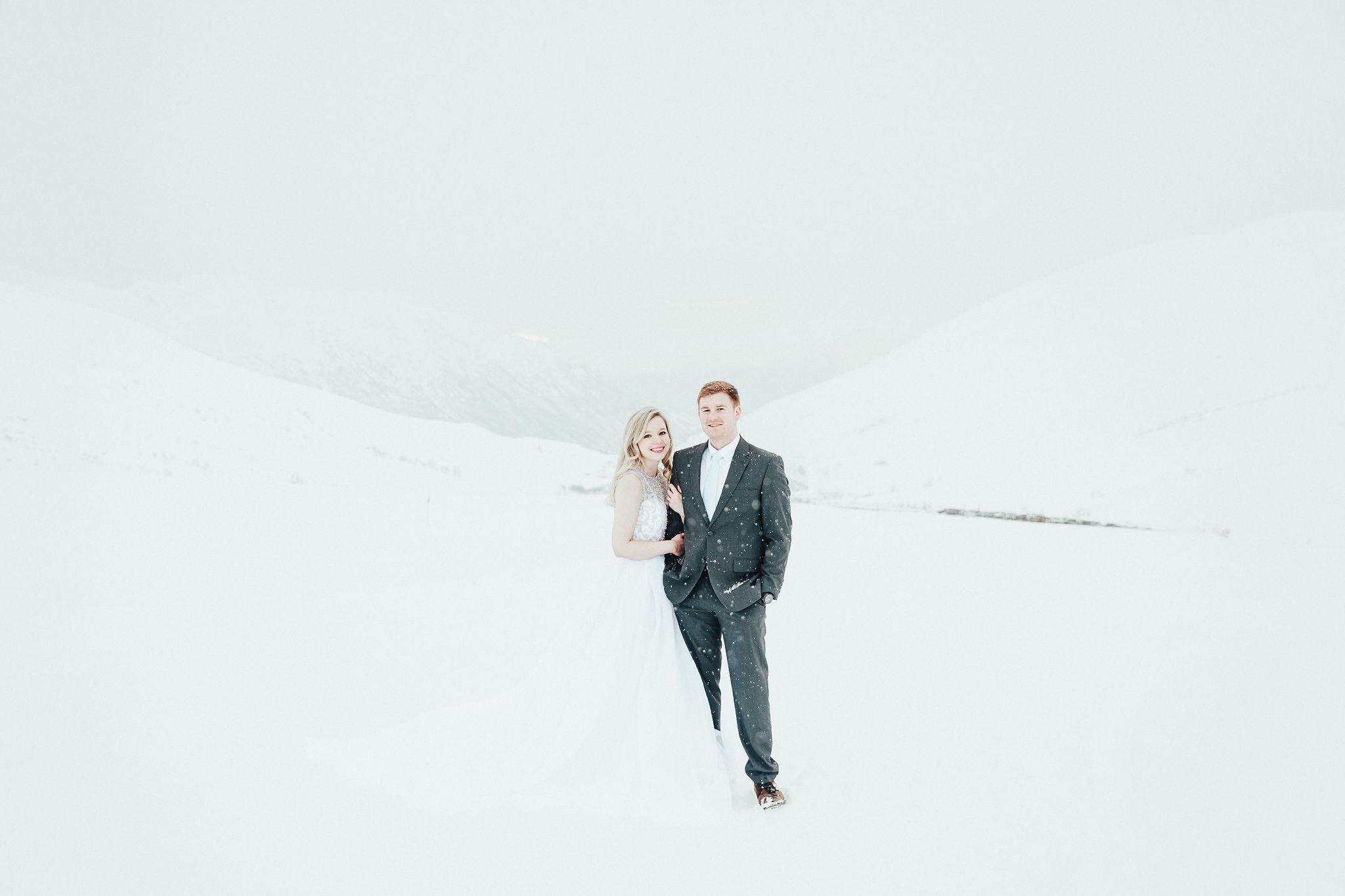 Alaska Wedding Photographer Winter Wedding