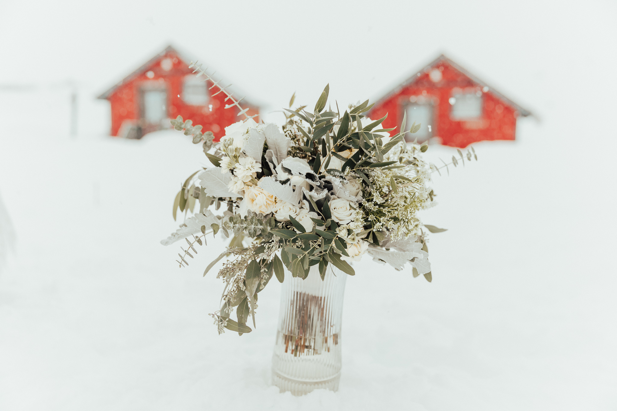 Paper Peony Wedding Bouquet