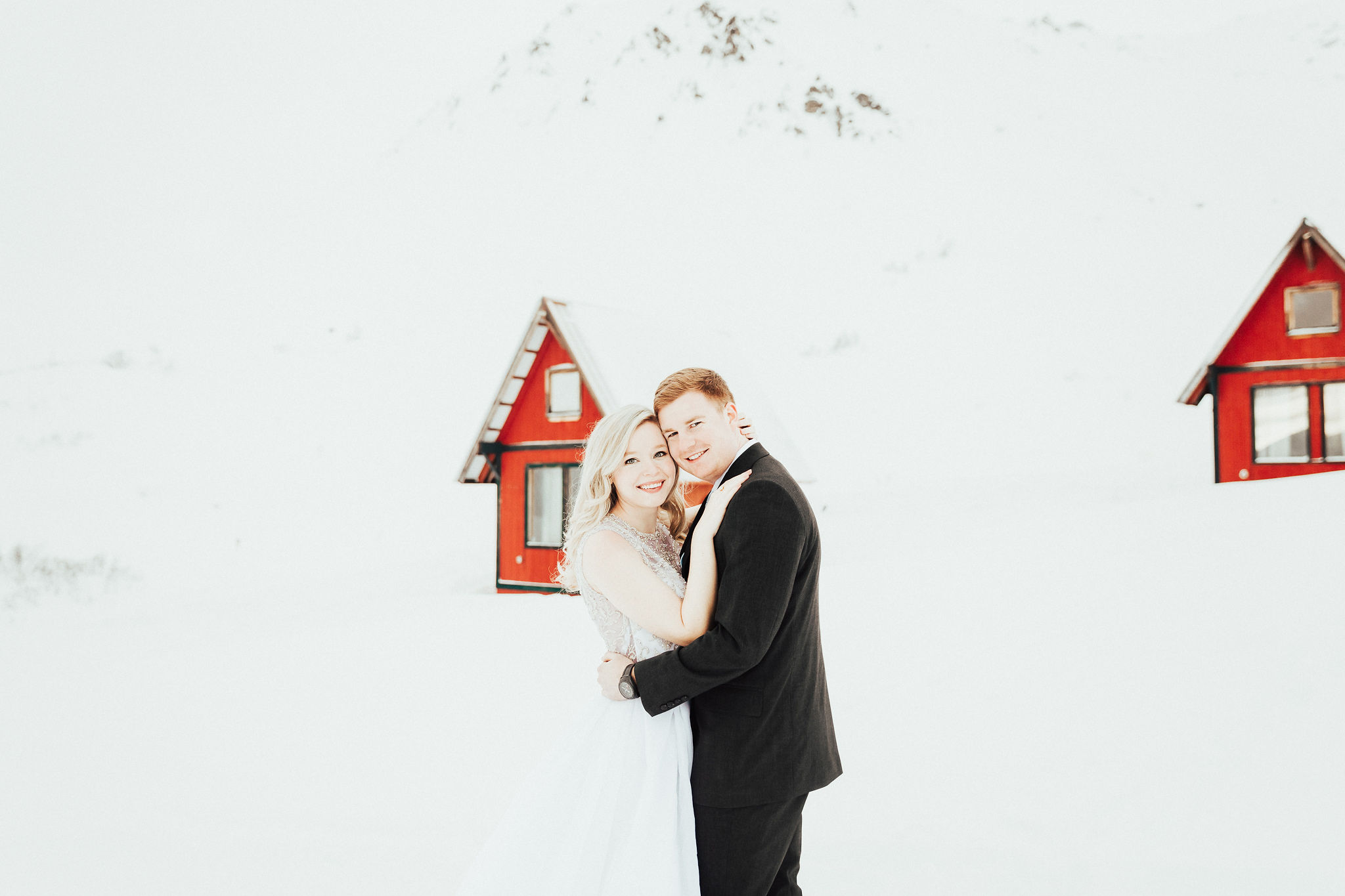 Winter Wedding Portraits.