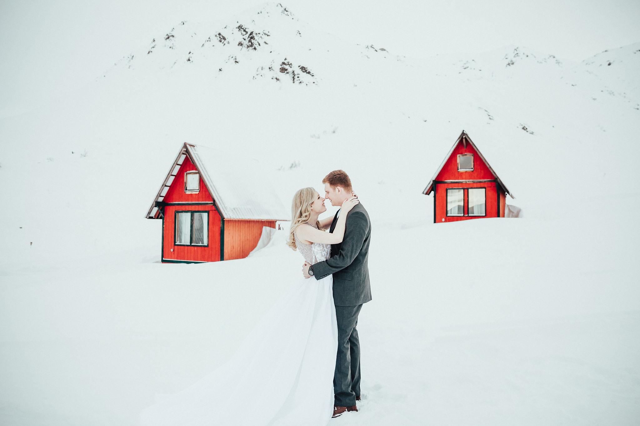 Hatcher Pass, AK elopement