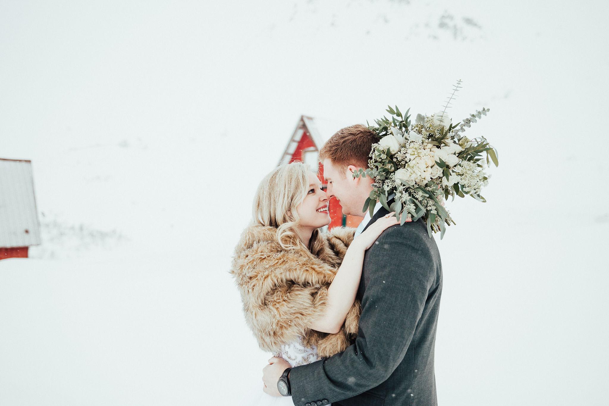 Alaska Winter Wedding Photographer