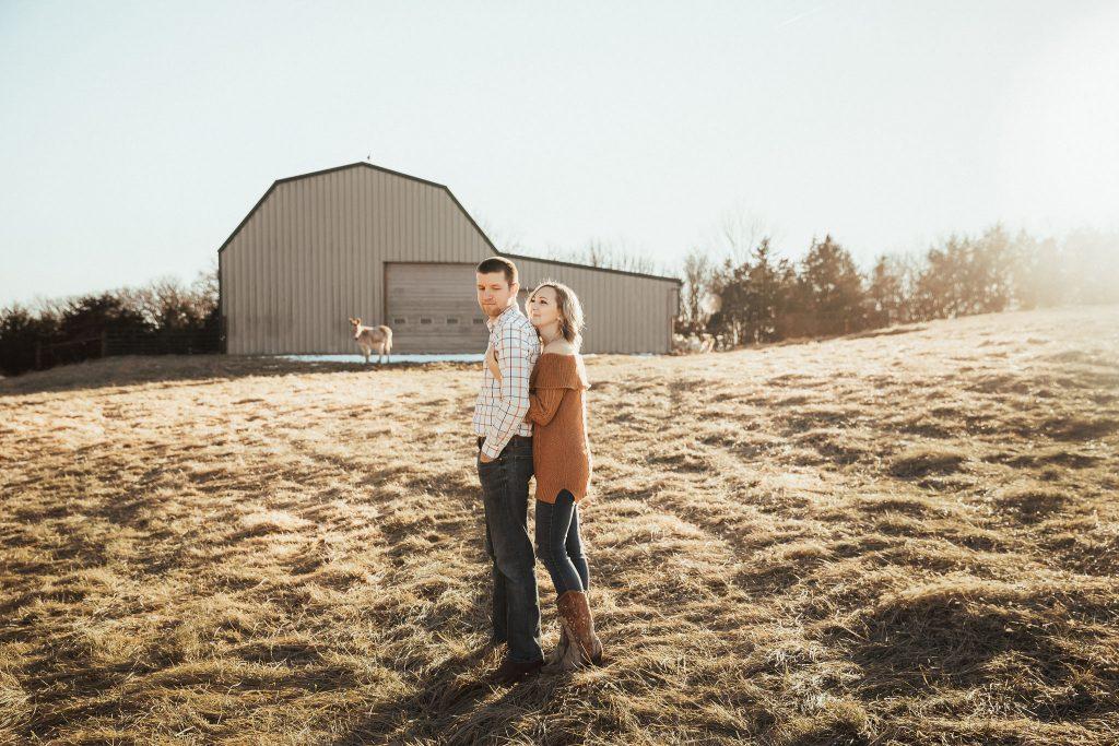 Farm Engagement Photoshoot