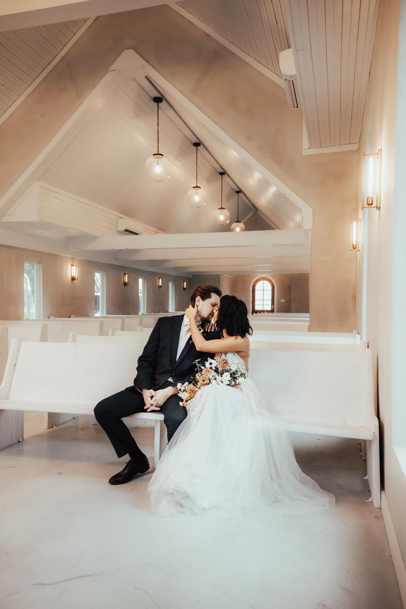 Elegant Boho-Chic Texas Wedding
