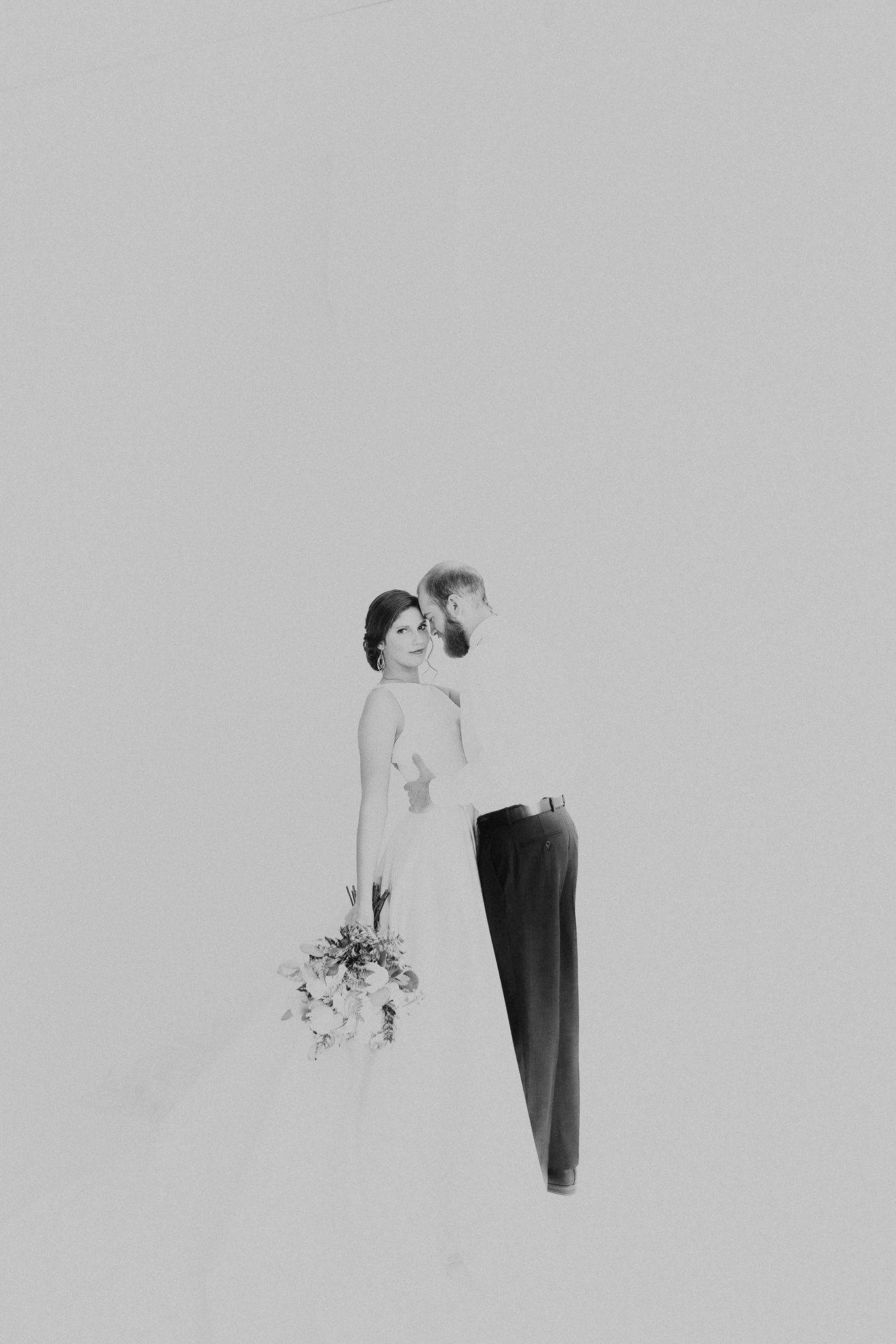 White-Out Styled Shoot