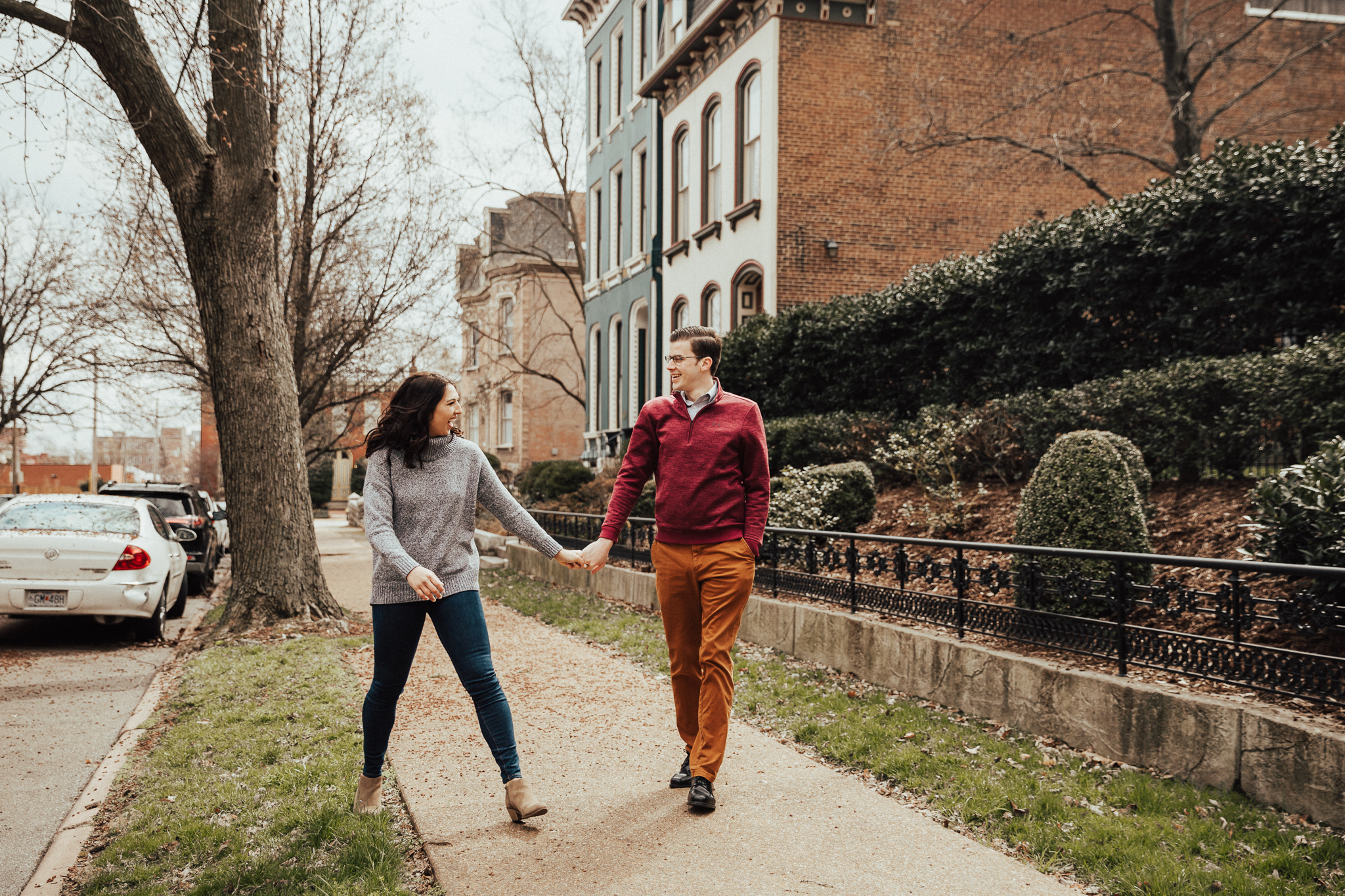 stl engagement photos