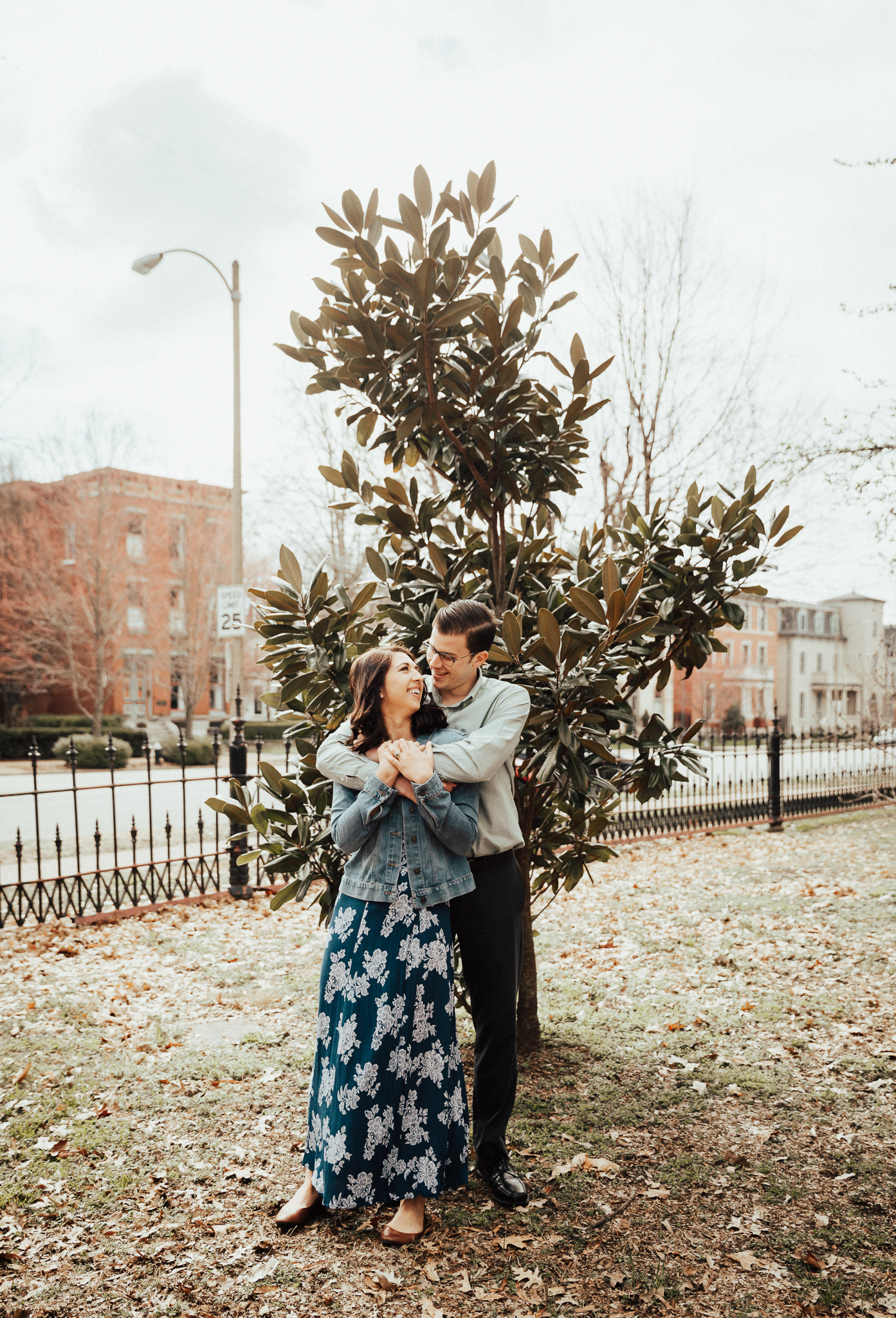 Stl engagement session